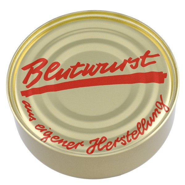 Blutwurst Hausmacher Art / Dose / 200g