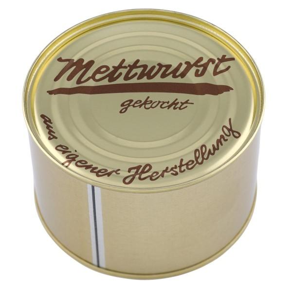 Mett Hausmacher Art / Gehacktes / gekocht / Dose / 400g