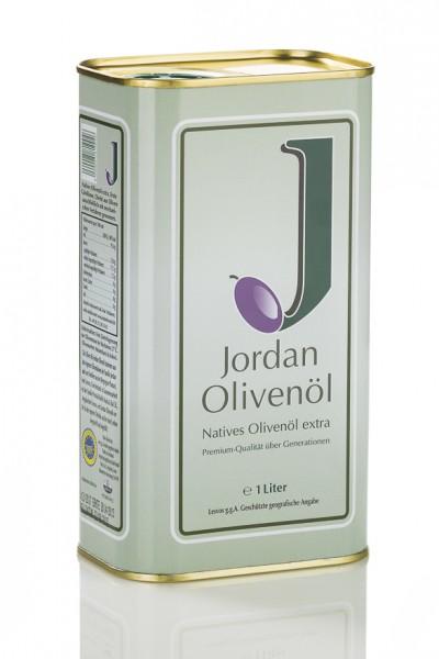 Jordan Olivenöl - Natives Olivenöl extra 1l