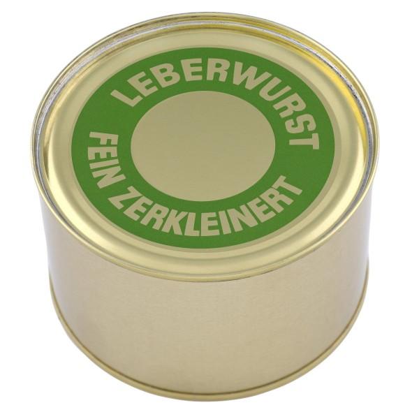 Feine Leberwurst Hausmacher Art / Dose / 400g
