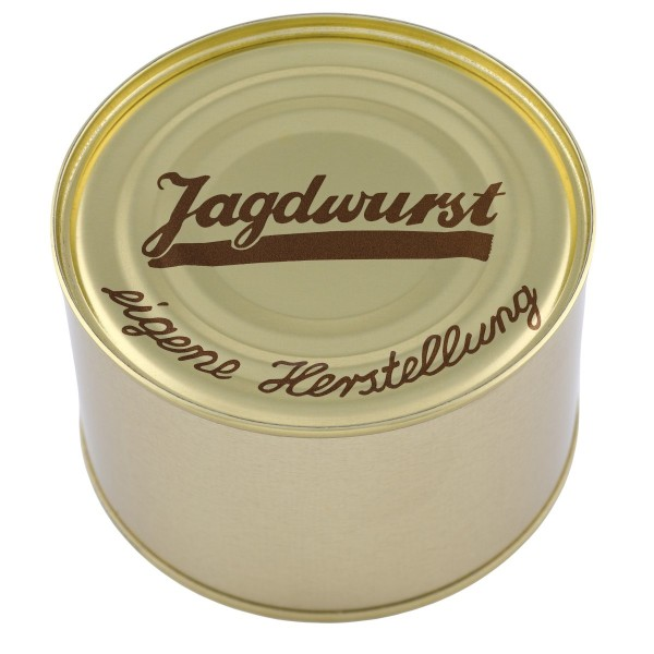 Jagdwurst Hausmacher Art / Dose / 400g