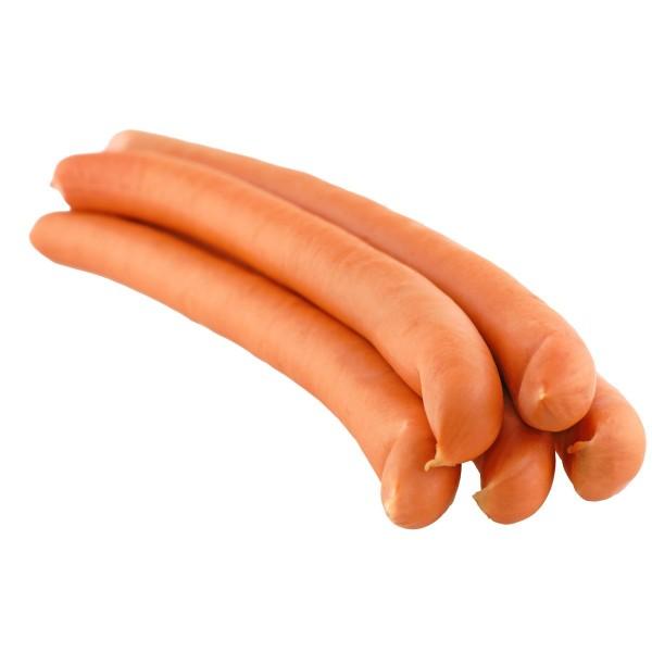 Wiener Würstchen / Pute / fettfrei / angeräuchert / Packung 2 Stück / ca. 180g