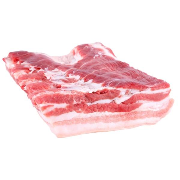 Bauch / Schweinebraten / ohne Knochen / mit Schwarte / 1kg